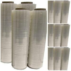 4 Pack Shrink Stretch Wrap Roll Plastic Clear 445mm X 450mm Gauge Film Bm Paper