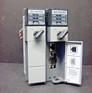 Allen Bradley 1747 l532 Ser E Slc 500 5 03 Cpu Processor Unit 16k Words Plc