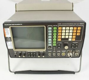 Marconi Instruments Radio Communications Test Set 2955a To 1ghz Full Set Tested