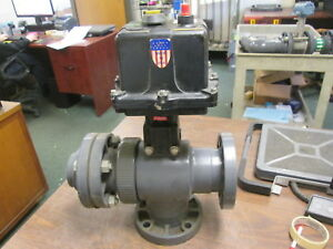 Hayward Actuating Ball Valve Evs3 X2 Pvc Body Cycle Time 10sec 90 115v 0 6a