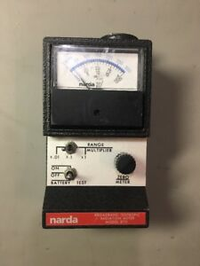 Narda Broadband Isotropic Radiation Meter Model 8711