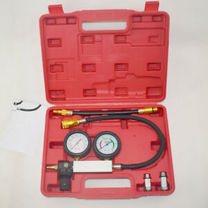 Cylinder Leak Down Tester Leak Detector Engine Compression Tester Gauges Perfect