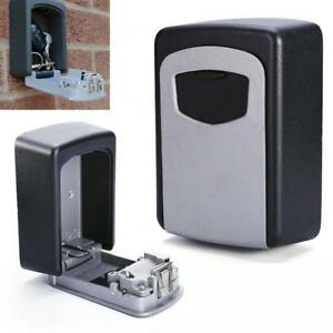 Safe Key Box Wall Mount Storage Security Lock Combination Cabinet Case Holder