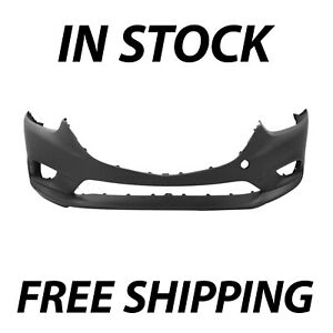 New Primered Front Bumper Cover Fascia For 2014 2015 2016 2017 Mazda 6 14 17
