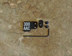300 AAC BLACKOUT MAG release2pc BUTTON Extended 6.8 5.56 223 300