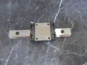 Thk Srs15m 7h235 One Ball Bearing Block Linear Slide 110mm Rail