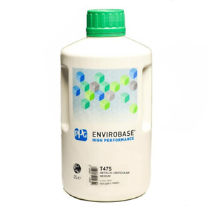 T475 Ppg Envirobase Tinter 2 Litre Waterbased Car Basecoat 475