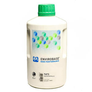 T473 Ppg Envirobase Tinter 2 Litre Waterbased Car Basecoat 473