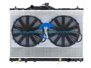 Radiator For 1991 1995 Acura Legend 1992 1993 1994 91 95 93 3 2l V6 2x12 Fan