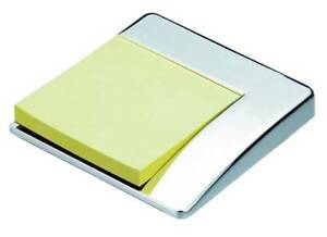 David Van Hagen Silver Plated Sticky Note Holder Silver
