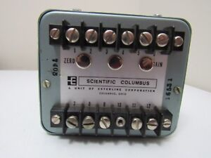 Scientific Columbus Wt34 2k5 a5 Watt Transducer