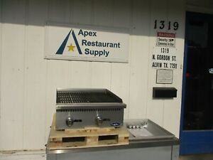Atosa Atrc 24 24 Radiant Broiler New Commercial Kitchen