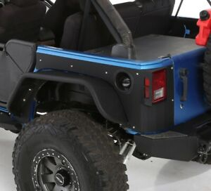Smittybilt Xrc Flux Rear Fender Flare Set For 07 17 Jeep Jk Wrangler