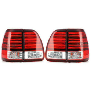 Car Led Tail Lights For Lexus Lx470 1998 2002 Rear Left Right Led Lamps Assembly