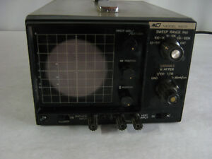 B k 3 Oscilloscope Sweep Range Model 1403 Dynascan Scope