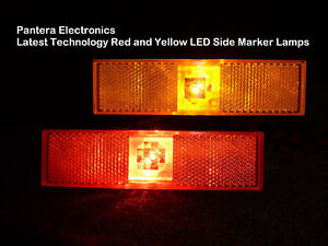 De Tomaso Pantera Led Side Marker Lamps