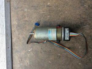 Pittman 14204c223 Dc Motor 30 3 Volts Dc With Optical Encoder Used Servo