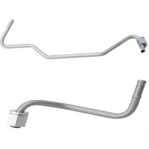 2pcs Transmission Cooler Lines On Radiator For 1999 03 Jeep Grand Cherokee 4 0l