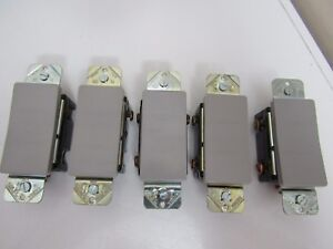 Pass Seymour Sierraplex Rocker Switch 26013 ggry Lot Of 5
