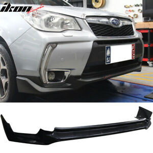 Fits 14 18 Subaru Forester Xt Premium Touring Oe Style Front Bumper Lip Abs