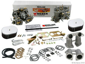 Weber Carburetor Kit Vw Bus Type 2 Type 4 Porsche 914 Dual 40idf Weber Kit