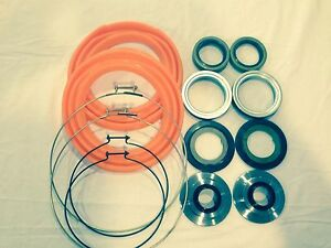Rockwell 2 5 Ton Front Axle Orange Boot And Seal Kit M35 M109 Military Mud Truck