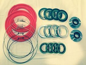 Rockwell 2 5 Ton 20 Pc Red Boot And Seal Kit M35 M109 Military Mud Crawler 4x4