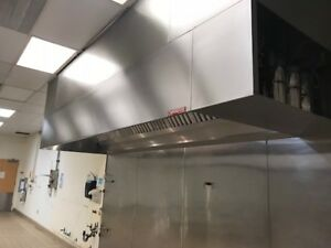 13 Commercial Vent Hood System With Ansul Fire System