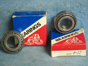 1970 80 Lincoln Ford Mercury Front Wheel Bearings Pr Nors Truck 72 74 76 78 A12