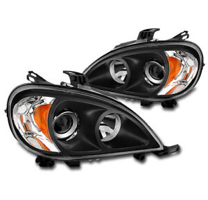 For 1998 2005 Mercedes benz W163 Ml350 Ml500 Black Projector Headlight Lamp New