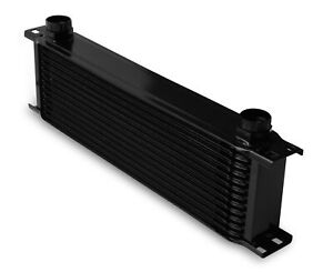 Earls 81300aerl Earls Temp A Cure Oil Cooler Black 13 Rows Extra Wide C