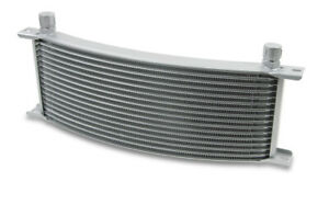 Earls 91008erl Earls Temp A Cure Oil Cooler Grey 10 Rows Wide Curved Co