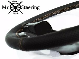 Perforated Leather Steering Wheel Cover For Mercedes Slk R171 05 beige Double St