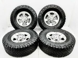 4 Oem 10 17 Dodge Ram 2500 3500 17 Set Polished Wheels Tires 2498 W Bf Good