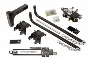 Rv Reese Pro Series 49901 Pro Series Round Bar Weight Distribution Kit 550