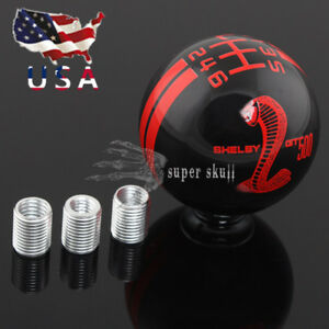 Us Cool Cobra 6 Speed Stick Gear Shift Knob Shifter For Shelby Gt 500 Universal