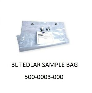 Rae Systems 3 Liter Tedlar Sample Bag 500 003 000