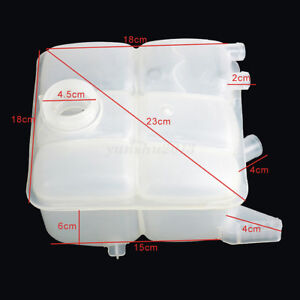 For Ford Focus Water Coolant Overflow Tank Reservoir Recovery Expansion Cup Tank