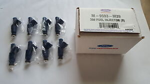 99 01 Mustang Cobra Ford Racing Performance 39lb 39 Lb Fuel Injectors 4 6dohc 4v