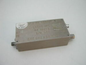 Rf Microwave Power Amplifier 2 Ghz 2000 2100 Mhz 14db 14dbm Tested