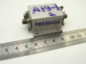 Microwave Power Amplifier 65 1600 Mhz 7 5dbm 12db Tested