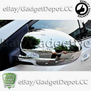 For 2009 2010 2011 2012 2013 2014 Chevrolet Cruze Chrome Mirror Covers Abs
