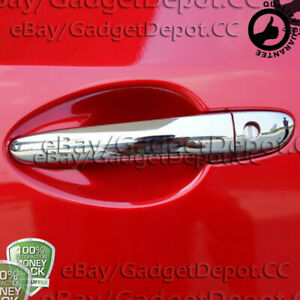 For 2009 2010 2011 2012 2013 2014 2015 Mazda 3 Chrome Door Handle Covers