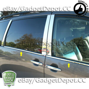 For 2011 2012 2013 2014 2015 2016 2017 2018 Toyota Sienna Chrome Window Sills