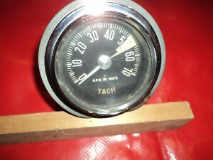 Corvette 1959 5500 Tachometer 59 Will Fit 56 62