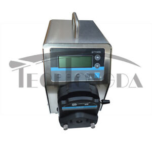 110v Flow Intelligent Peristaltic Pump Stainless Steel 100l 1 pump Head