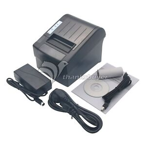 Pos8220 Receipt Printer 80mm 300mm s Thermal Auto Cutter Usb Ethernet Serial Us