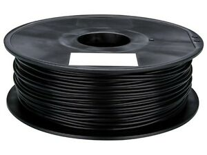 Velleman Pla175b1 1 75 Mm 1 16 pla Filament Black 1 Kg 2 2 Lb