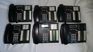 Nortel Communications Phone System With 6 Phones