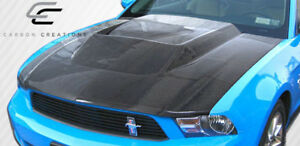 2010 2012 Ford Mustang Carbon Creations Circuit Hood 105862